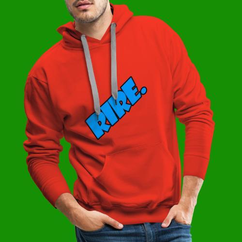 rire - Sweat-shirt à capuche Premium pour hommes