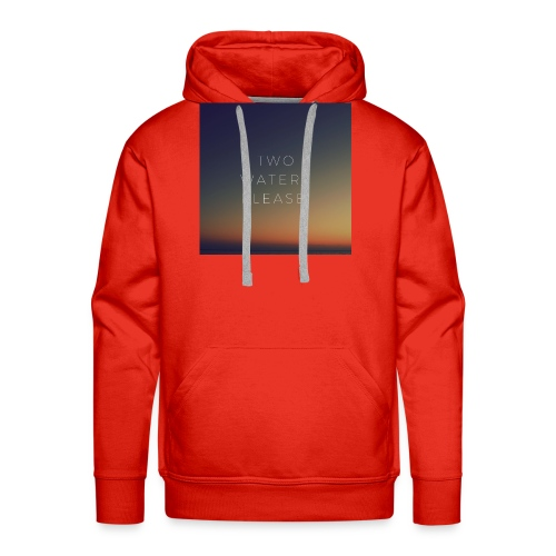 Two waters please - Men's Premium Hoodie
