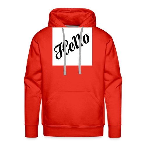 HELLO - Männer Premium Hoodie