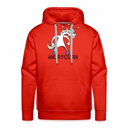 Angry Unicorn - Männer Premium Hoodie