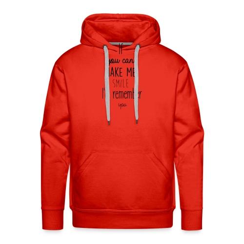 Mug en céramique Gröner Citation anglaise - Sweat-shirt à capuche Premium pour hommes