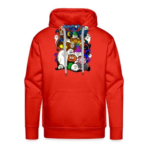 Spooky - Mannen Premium hoodie