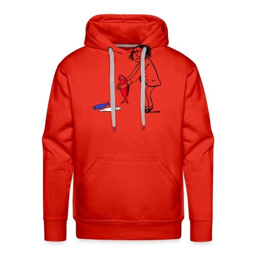 Roi fidèle - Sweat-shirt à capuche Premium pour hommes