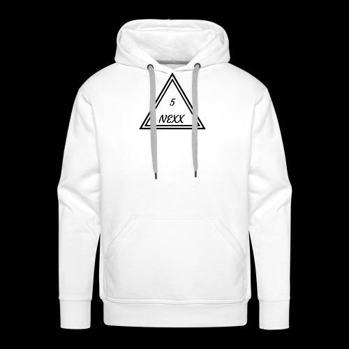 5nexx triangle - Mannen Premium hoodie