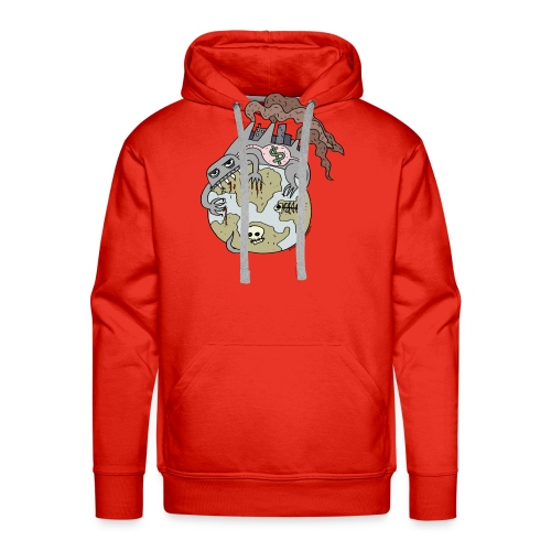 Consuming Ourselves to Death - Men's Premium Hoodie