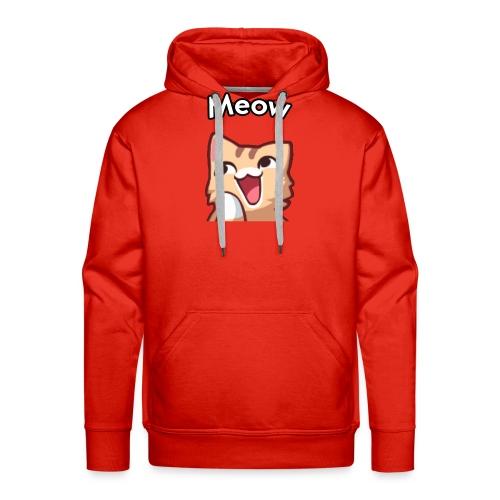 Cute Meow Cat - Männer Premium Hoodie