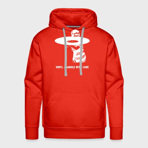 T-Record - Handle with care - Mannen Premium hoodie