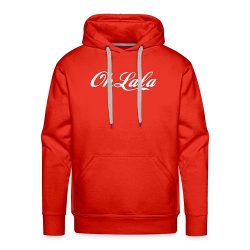 Oh la la ! - Sweat-shirt à capuche Premium pour hommes