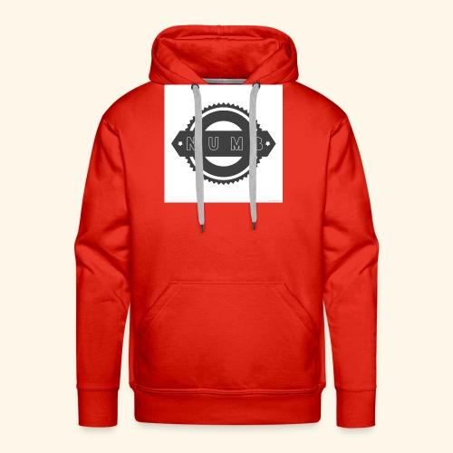NumbClothingCo logo tee - Men's Premium Hoodie