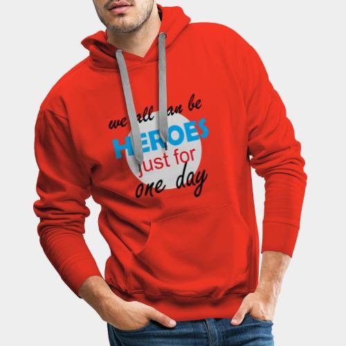 GHB Hero Zero 19032018 2 - Männer Premium Hoodie