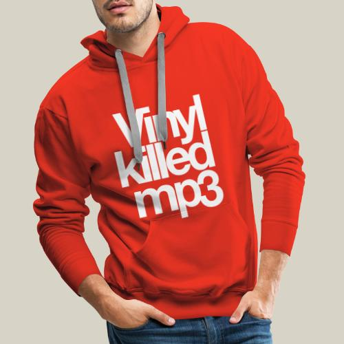 Vinyl_killed_mp3 - Miesten premium-huppari