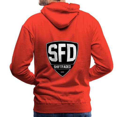 SFTDED W/ Line - Mannen Premium hoodie