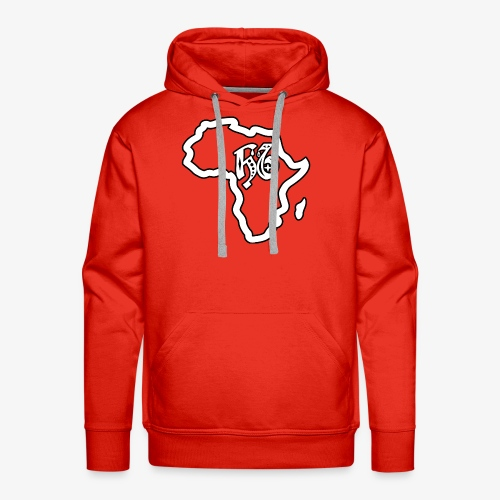 afrika pictogram - Mannen Premium hoodie