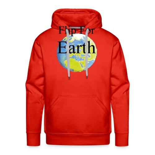 Flip For Earth T-shirt - Premiumluvtröja herr