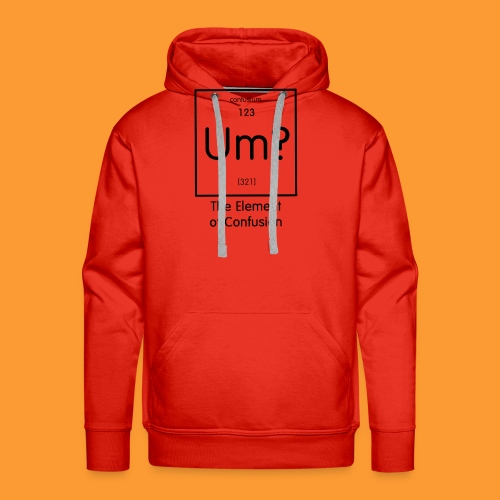 element of confusion - Men's Premium Hoodie
