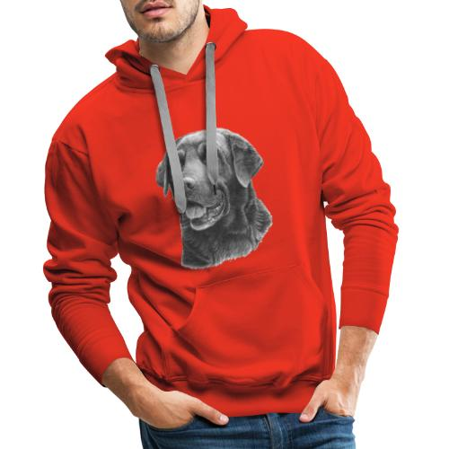 labrador bw - Herre Premium hættetrøje