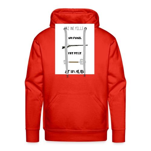 T-shirt imprimé J'ai une fille - Sweat-shirt à capuche Premium pour hommes