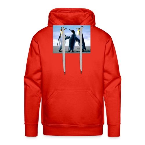 Penguins - Sweat-shirt à capuche Premium pour hommes