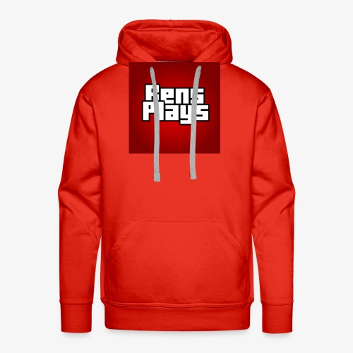 BensPlays met achtergrond - Mannen Premium hoodie