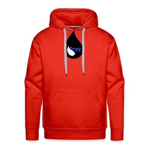 Cryy Logo - Männer Premium Hoodie