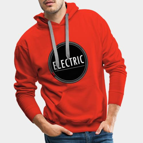 Electric red light - Männer Premium Hoodie