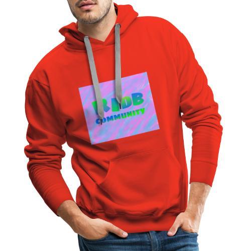 RIDB community - Mannen Premium hoodie