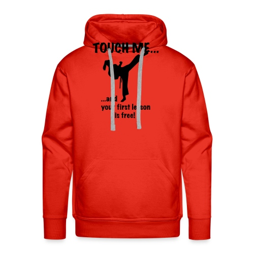 touch me for free lesson - Männer Premium Hoodie