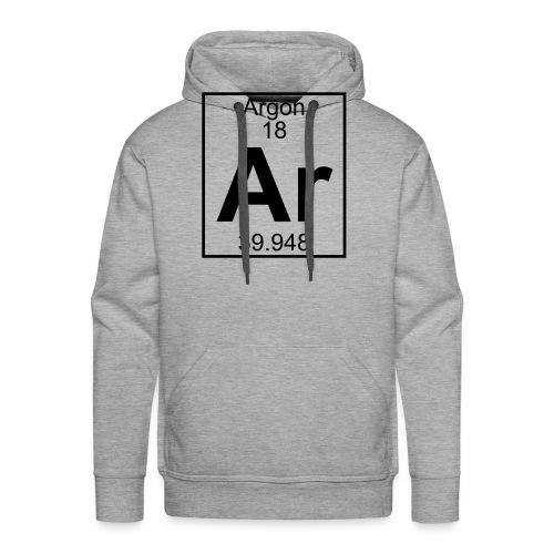 Argon (Ar) (element 18) - Men's Premium Hoodie
