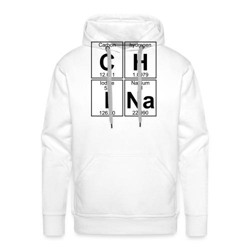 C-H-I-Na (china) - Full - Men's Premium Hoodie