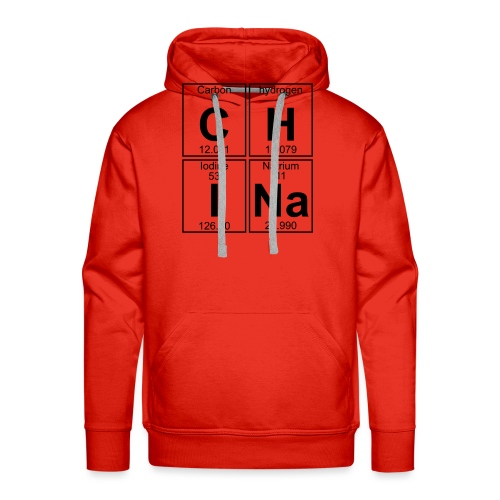 C-H-I-Na (china) - Full - Men's Premium Hoodie