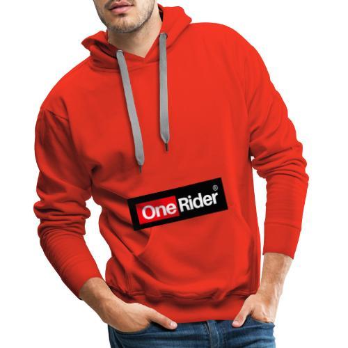 Colección OneRider® - Sudadera con capucha premium para hombre
