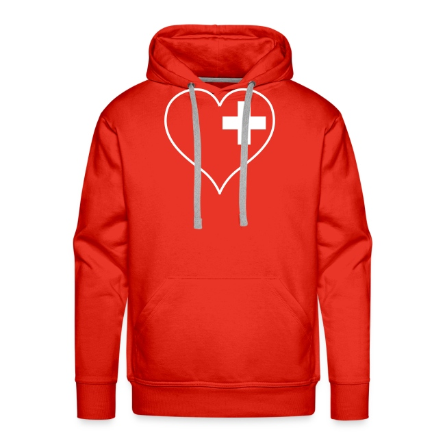 swiss heart white