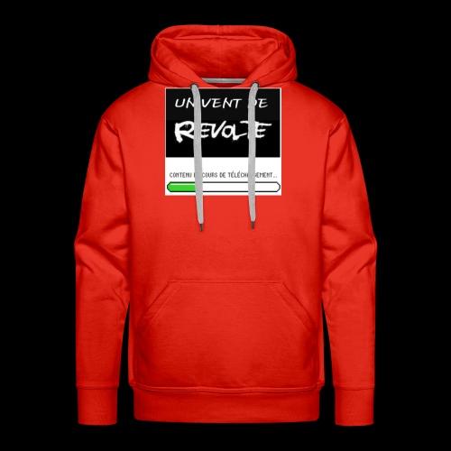 Un vent de révolte - Sweat-shirt à capuche Premium pour hommes