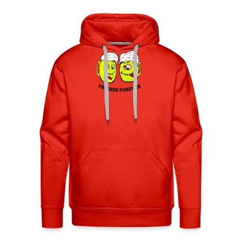 Beer Friends Forever T Shirt - Men's Premium Hoodie