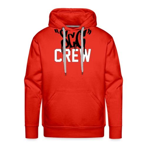 ScC CREW Logo Zwart - Mannen Premium hoodie
