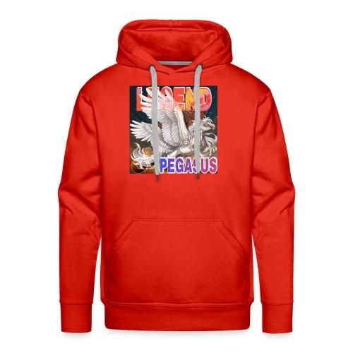2021 04 01 pegase - Sweat-shirt à capuche Premium pour hommes