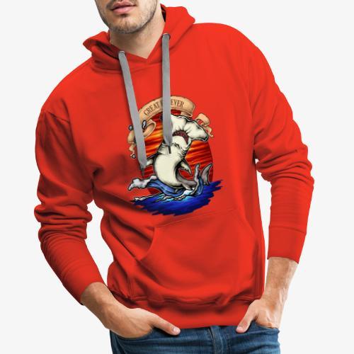 Roi de l'océan - Sweat-shirt à capuche Premium pour hommes