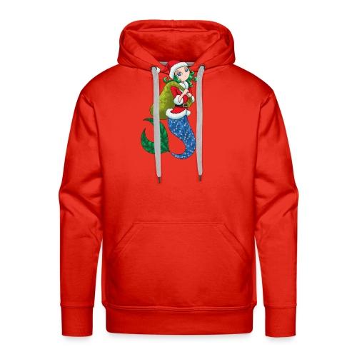 Meerjungfrau Weihnachtsmann Weihnachten Geschenk - Männer Premium Hoodie