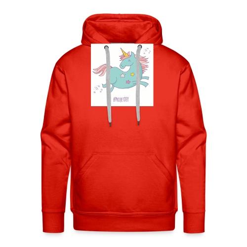 licorne-011 - Sweat-shirt à capuche Premium pour hommes