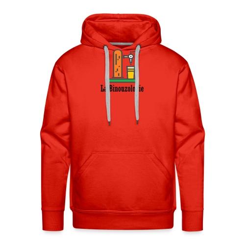 binouzologie - Sweat-shirt à capuche Premium pour hommes