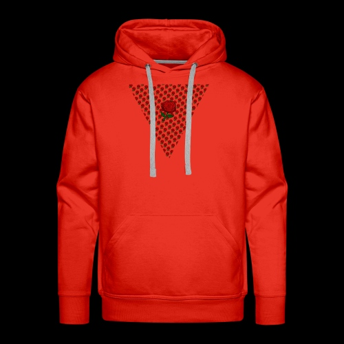 Dreieck Rose - Männer Premium Hoodie
