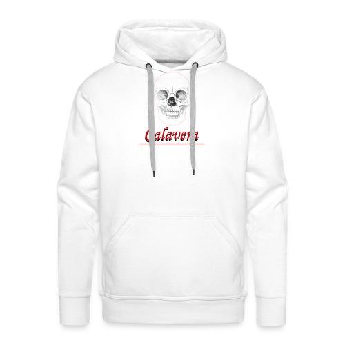 Calavera - Sudadera con capucha premium para hombre
