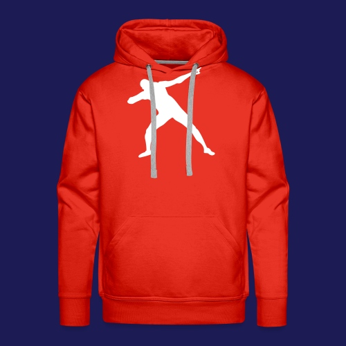 Lightning Christmas Bolt - Men's Premium Hoodie