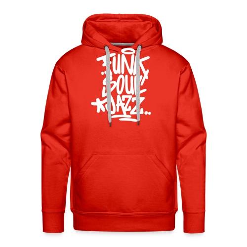 funk soul jazz - Männer Premium Hoodie