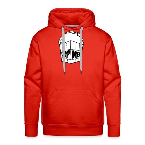 PopMeC logo - Men's Premium Hoodie