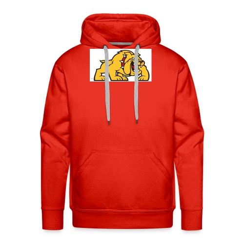 Bulldog logo ml - Sudadera con capucha premium para hombre