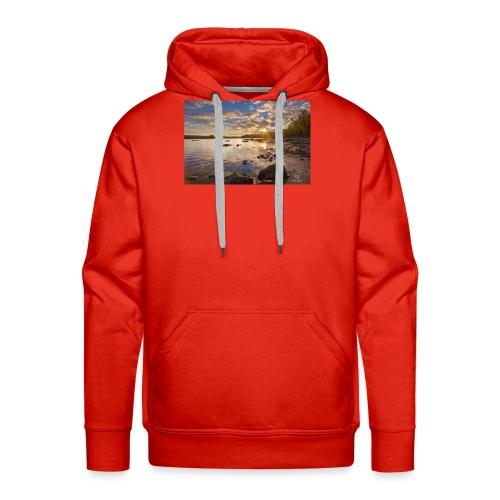 Lac - Sweat-shirt à capuche Premium pour hommes