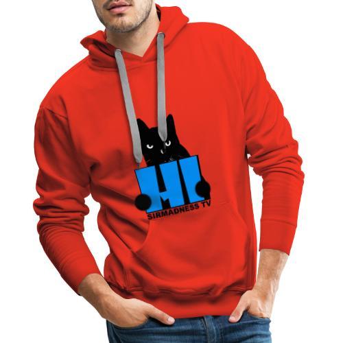 SirMadnessTV - HI ! - Sweat-shirt à capuche Premium pour hommes