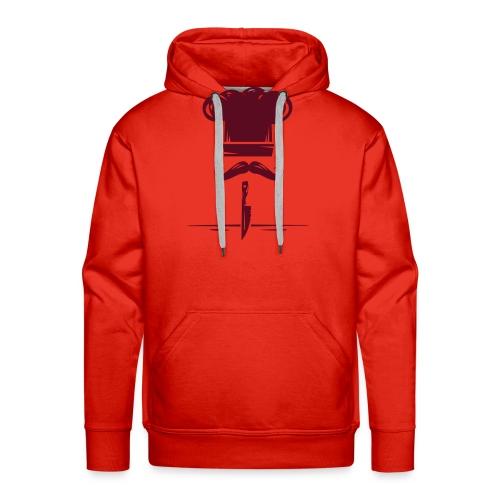 logo kitchen - Sudadera con capucha premium para hombre