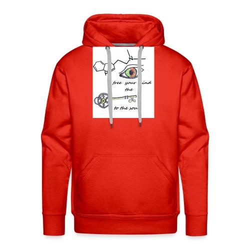 Free your mind - Mannen Premium hoodie